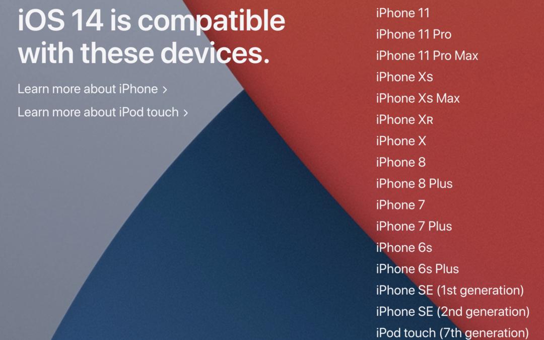 iOS 14 coming soon